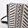 Tribe Mixed Weaves Fold Over Small Bag - pr_66696