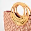 Woven Canggu Rattan Handle Tote Bag - pr_65869