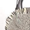Fringe Edge Round Woven Basket Bag - pr_69773