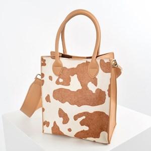 Hide Mini Structured Top Handle Bag