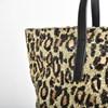 Leopard Confetti Print Sequin Tote - pr_68346