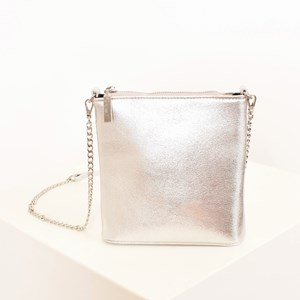 Metallic Slim Cross Body Bag