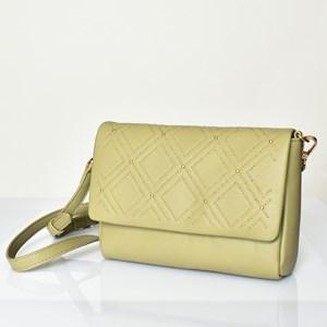 Diamond Mini Stud Fold over Lunch Bag