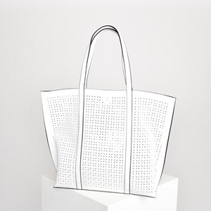 Almond Cut out Tote Bag