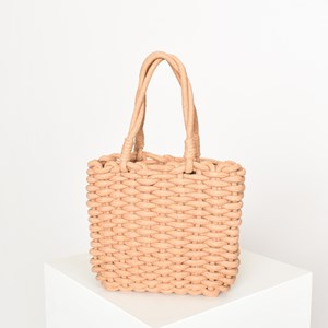 Cord Weave Small Basket