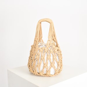 Open Macrame Small Bag
