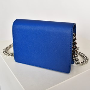 Statement Chain Strap Fold Over Bag