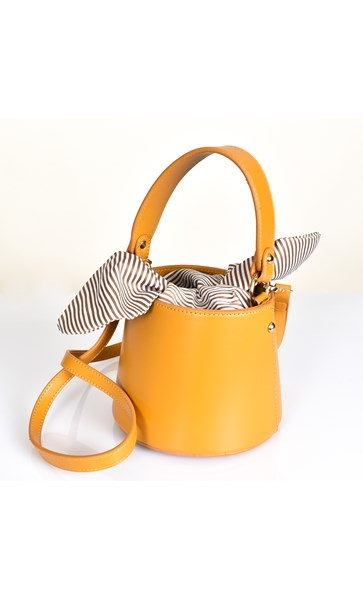 Mini Drawstring Insert Bucket Bag