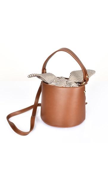 Mini Drawstring Insert Bucket Bag