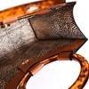 Inset Resin Ring Reptile Basket Tote Bag - pr_73800