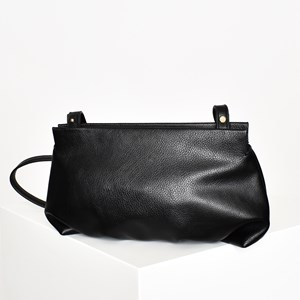 Pleated Bottom Cross Body Bag