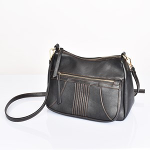 70s Stitch Pocket Front Shoulder Bag