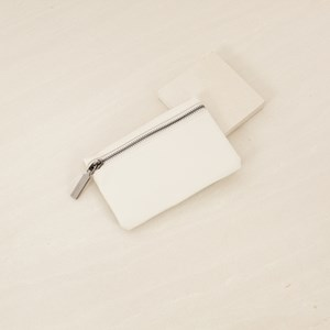 Mini Zip Front Soft PU Zippie