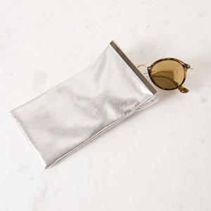 Metallic Metal Bar Sunglasses Case