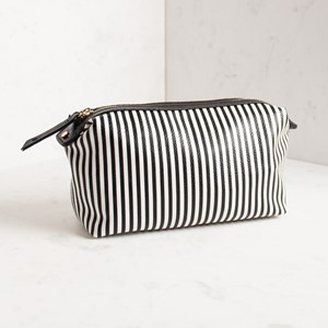 Polly Thin Stripe Make Up Case