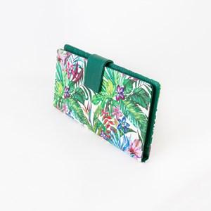 Tropicale Print Travel Wallet