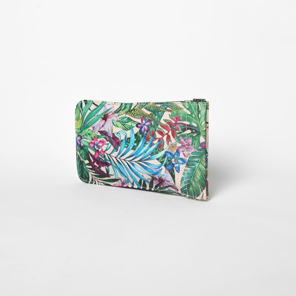 Tropicale Print Sunglasses Case