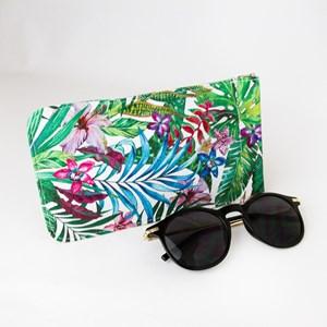 Tropicale Print Sunglasses Case