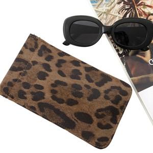 Leopard Sunglasses Case
