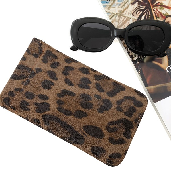 Leopard Sunglasses Case