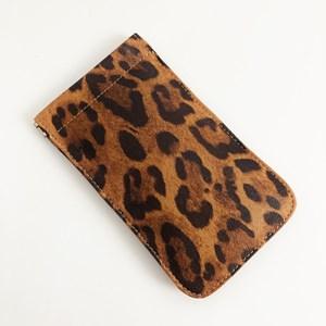 Leopard Print Sunglasses Case