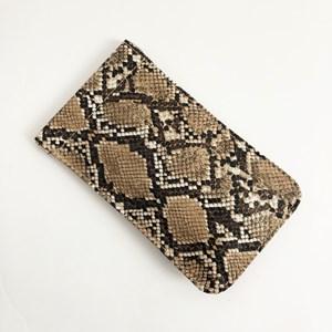Reptile Print Sunglasses Case