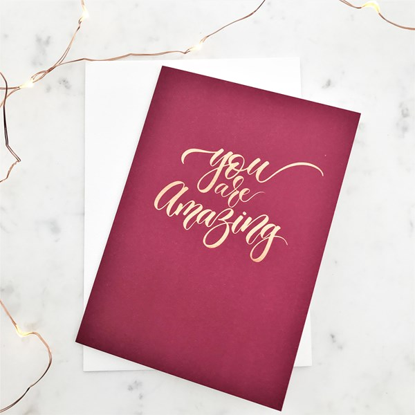 Elm GC1743 You Are Amazing Card