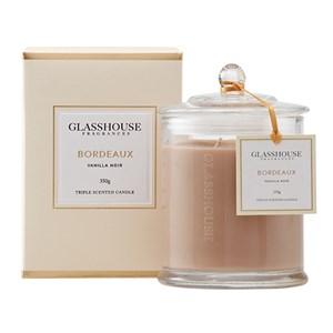 GLASSHOUSE Standard Candle Bordeaux Vanilla Noir