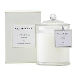 GLASSHOUSE Standard Candle Marseille Gardenia