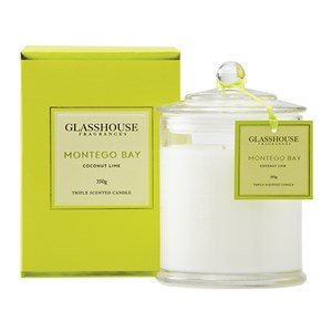 GLASSHOUSE Standard Candle Montego Bay Coconut Lime