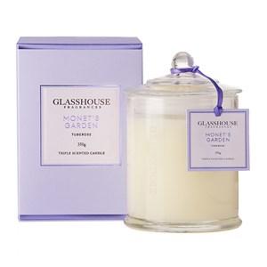 GLASSHOUSE Standard Candle Monets Garden Tuberose