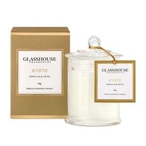 GLASSHOUSE Mini Candle Kyoto Camellia & Lotus