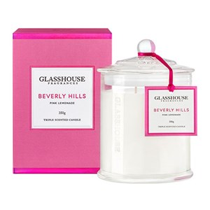 GLASSHOUSE Standard Candle Beverly Hills Pink Lemonade