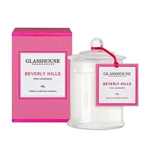 GLASSHOUSE Mini Candle Beverly Hills Pink Lemonad
