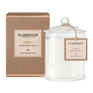 GLASSHOUSE Standard Candle Persia Jasmine Wood Vanilla