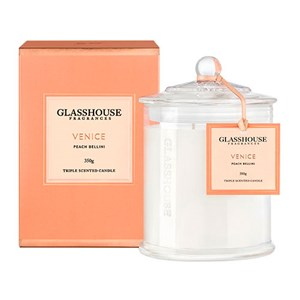 GLASSHOUSE Standard Candle Venice Peach Bellini