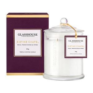 GLASSHOUSE Standard Candle Paris Violet & Patchouli