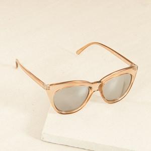 7457AM Amber Cats Eye Sunglasses